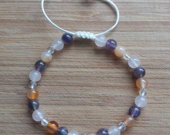 Beautiful Handmade Fertility Bracelet. Therapeutic, Healing Bracelet, Chakra Bracelet.