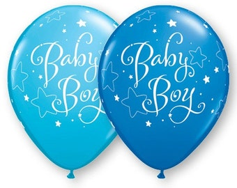 Baby boy balloons baby shower shower boy balloons, It's a Boy Balloons, Baby boy balloons, New baby boy balloons