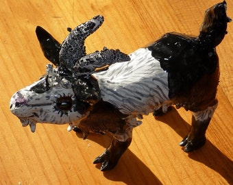 Get your Goat handmade in U.S. from a lump of clay sold by outsider Artist