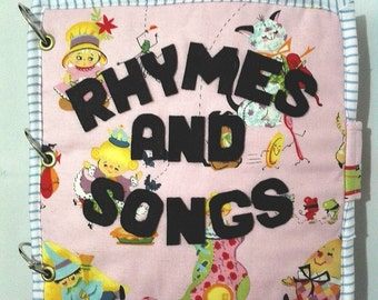A Nursery Rhyme and Song Busy Book