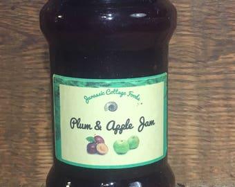 plum and apple jam 212ml
