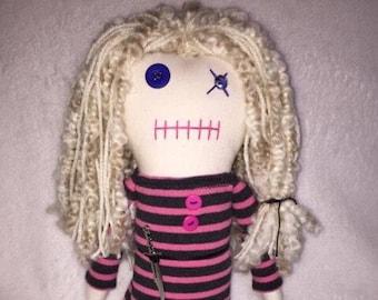 Lizzie - Inspired by TWD - Creepy n Cute Zombie Doll (D)