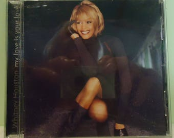 "011618 06 Used Whitney Houston ""My Love is Your Love"" CD Arista 07822-19037-2"