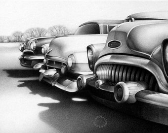 Yesterday's News - Pencil Drawing