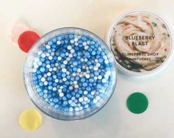 Blueberry Blast Slime 6 oz (scented)