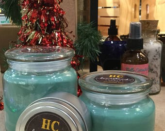 Christmas Tree Scented soy candles