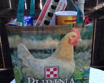 Chicken Feed Sack Tote