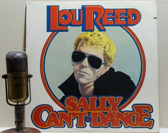 """Lou Reed Record """"Sally Can't Dance"""" 1970's Glam Rock"""