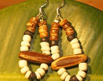 Amazon seed earrings