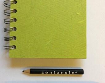 1 mini 4x4inch sketchbook kit - white