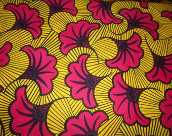 Wax-wax fabric African pattern coupon