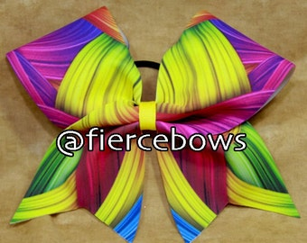 All About Color Cheer Bow