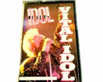 Billy Idol-Vital Idol Cassette Tape