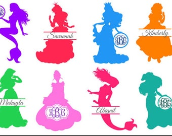 Disney Princess Monogram