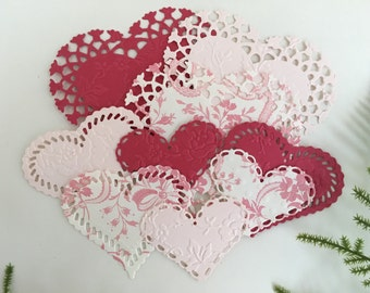 Anna Griffin Die Cut and Embossed Hearts