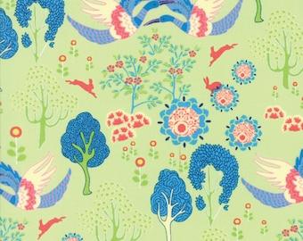Moda MANDERLEY Quilt Fabric 1/2 Yard By Franny & Jane - Honeydew 47502 16