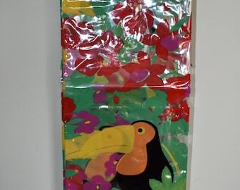 Vintage Toucan Shower Curtain // Berkeley Shower Curtain // Vinyl Shower Curtain