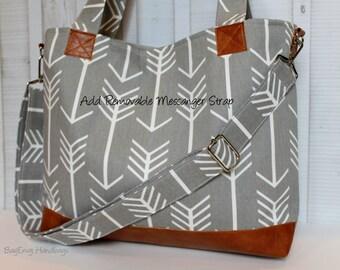 Add A Removable Messenger Strap Upgrade - For Your BagEnvy Handbag Or Diaper Bag