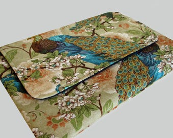 "15 Inch Laptop Case, 15 Inch Laptop Sleeve, 15"" Laptop Cover, 15"" Laptop Bag, Laptop Case 15"" - Stunning Peacock"