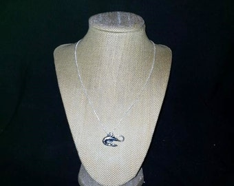 Beautiful Silver Shrimp Necklace, Nautical Jewelry, Shrimp, Shrimp Jewelry, Shrimp Necklace, Coastal Jewelry, Seashore, Seaside Jewelry,