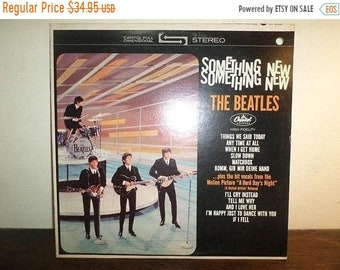 Vintage 1969 LP Record The Beatles Something New Capitol Records ST-2108 Excellent Condition 10378