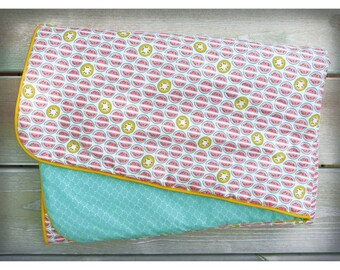 Blanket / quilt baby Watermelon - tart reasons