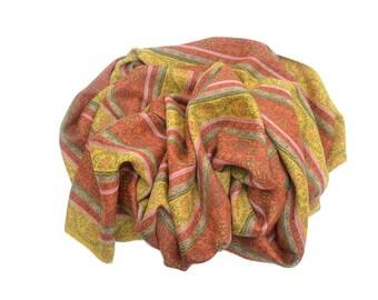 Luxury Multi-color Wool Shawl Wrap Scarf