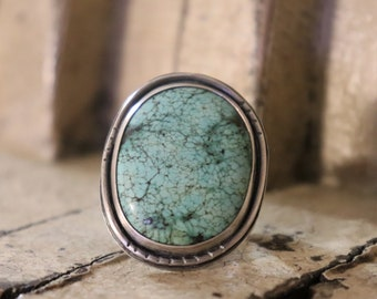 statement ring, turquoise ring