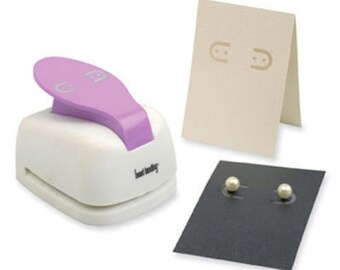 Earring Card Maker / Earring Card Hole Punch ~ DIY Earring Card Display
