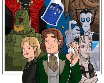 The 8th Doctor.