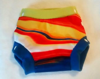 Panties boyshorts = protection for cloth diaper