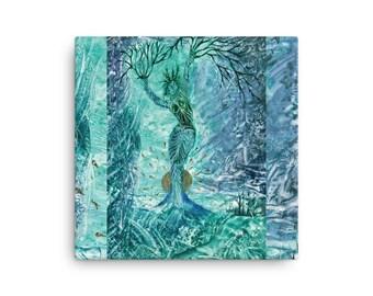 """Original Exclusive design """"Veleda"""" Canvas by AditiKali"""