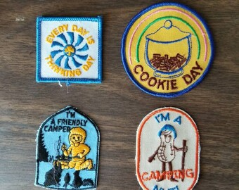 Vintage Girl Guide Patches