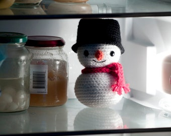 Amigurumi Snowman - Crochet Pattern