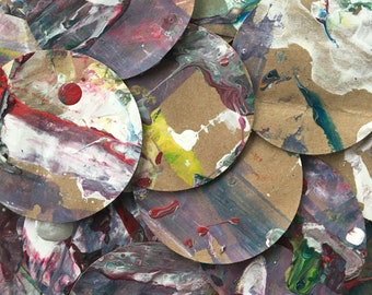 Hand-painted Paper Circles