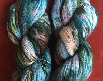 Hand dyed yarn, Robin's nest