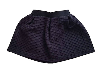 Quilted baby girl skirt/Babe