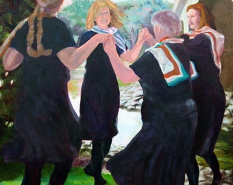 Confluence: Irish dance - original art