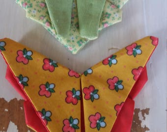 Butterfly fabric origami