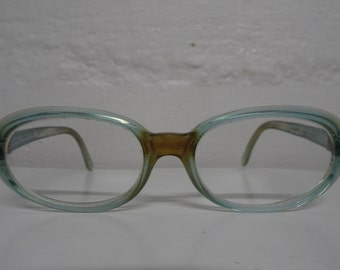 Vintage Swank Cat Eye Eyeglasses With Rhinestones - FREE SHIPPING