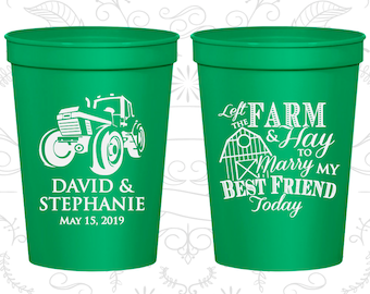 Kelly Green Stadium Cups, Kelly Green Cups, Kelly Green Party Cups, Kelly Green Wedding Cups (344)