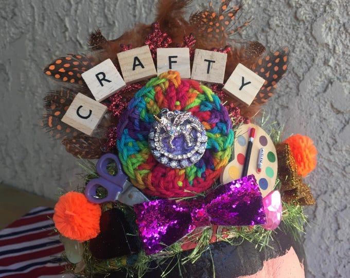 Affirmation Art Crown - Crafty