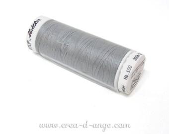 Spool thread gray 200 m - line SERALON