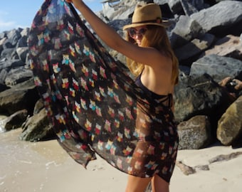 Bathing Suit Cover Ups / Beach Cover Ups / Swimsuit Cover Ups / Batik Sarong / Beach Cover Up / Swim Cover Ups / Pareo Wrap / Gift for Her