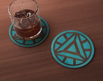 Man of Iron Geek Drink Coaster