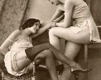 Women in Love - Note intime de carte carte de voeux