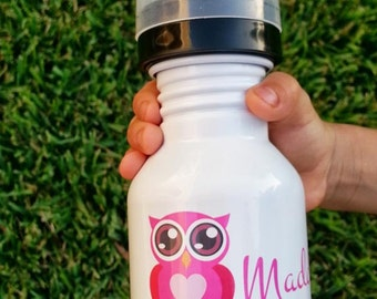 50% OFF Custom Sippy Bottle - Stainless Steel