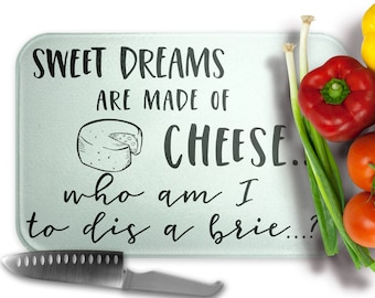 Who am I to dis a Brie? - Pun Cutting Board, Housewarming, Mother's Day, Father's Day, Chef Gift, Hostess Gift