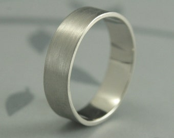 10K Wide Gold Band--Solid Gold Wedding Band--Flat Gold Band--Men's Wedding Band--Men's Gold Ring--Straight and Narrow Band--Men's Gold Band