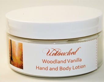 Woodland Vanilla Shea, Mango and Cocoa Butter Hand and Body Lotion